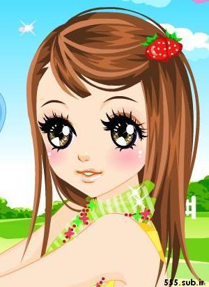 عکس دختر کارتونی عروسکی